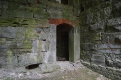 Fort Montgomery doorway