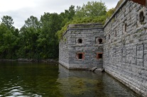 Fort Montgomery outside