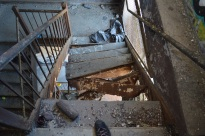 Collapsed Stairs